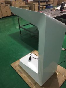 LCD Display Floor Standing 27 Inch Touch Screen Kiosk pictures & photos