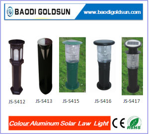 1W Durable Colour Aluminun Solar Lawn Light pictures & photos