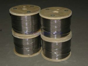 AISI304 Stainless Steel Wire Rope 1*19 6mm pictures & photos