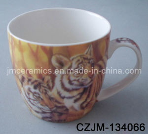Full Printing Tiger Mug pictures & photos