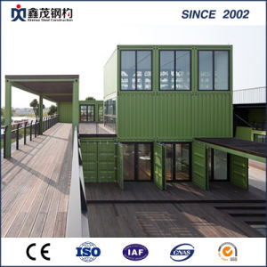 ISO Certificate Prefab Office Container in Low Cost (Container House) pictures & photos