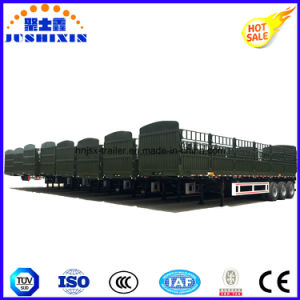 Factory Supply Fence Cargo Trailer with Side Panel and Livestock pictures & photos