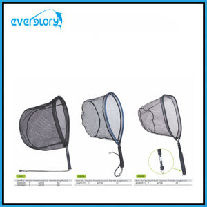 Convenient Carry Fly Fishing Net Fishing Tackle with Different Shape Head Shape pictures & photos