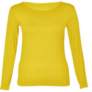 Womens Crewneck Long Sleeve T-Shirts pictures & photos