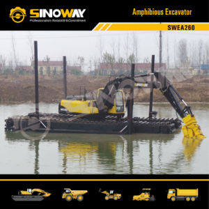 Swea260 Amphibious Dredge Excavator pictures & photos