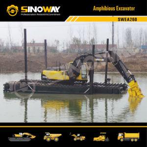 Swea260 Amphibious Dredge Excavator pictures & photos