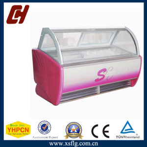 Ice Cream Refrigerated Display Cases for Sale pictures & photos