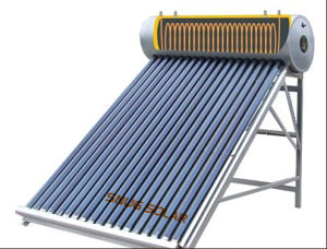 Compact Pressurized Solar Water Heater with Copper Coil pictures & photos