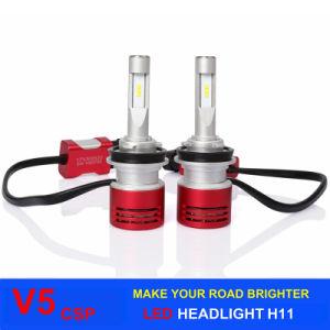 LED Lighting 60W 8400lm V5 Car LED Headlight Bulbs with Csp LED Chips H11 H4 H1 H3 H7 9005 9006 Auto LED Headlight pictures & photos