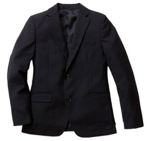 Wholesale Fashion Good Quality Winter School Boy′s Black Suits for School Wear pictures & photos
