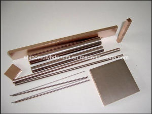 Ground Tungsten Copper Alloy Rods pictures & photos