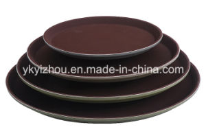 Hotel Anti Skid Food Serving Tray with Logo Printed pictures & photos