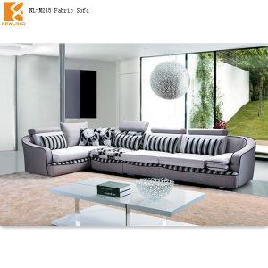 Newland Furniture Factory Modern Classic Corner Fabric Sofa Set Design (NL-M215)