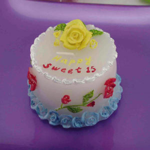 Birthday Cake Gifts Craft Candles (RC-0042)
