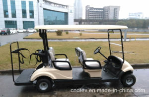 Dongfeng Electric Car for Golf 4 Seat Golf Car pictures & photos