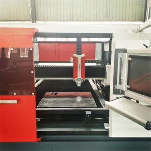 3000W CNC Fiber Laser Cutting Machine for Metal Sheets (FLX3015-3000W) pictures & photos