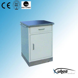 Hospital Medical Stainless Steel Top and Base Bedside Locker (K-7) pictures & photos