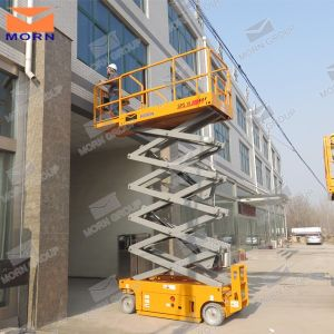 10m Scissor Lift Price pictures & photos