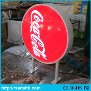 Illuminated Acrylic Plastic LED Light Box Display Signboard pictures & photos