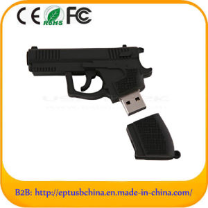Customized PVC Gun Shape USB Flash Drive (EG643) pictures & photos