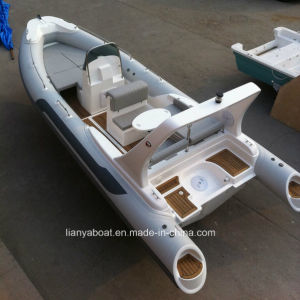 Liya 6.6m 12 People Luxury Yacht Rib Boat Military Pontoon Boats pictures & photos