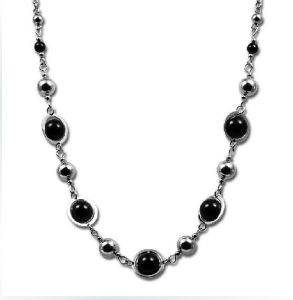 Stainless Steel Fashion Pearl Necklace (YC-10030)