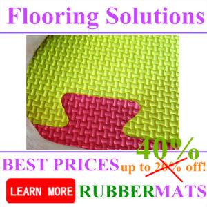 EVA Foam Flooring Interlock 25mm, 40mm Colorful Soft Flooring Tiles pictures & photos