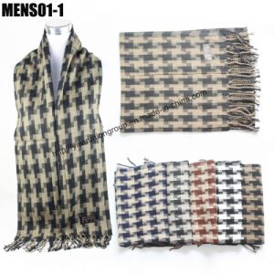 Fashion Men′s Cashmere Scarf (MENS01)