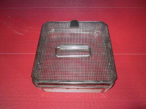 Perforated Stainless Steel Basket Tray pictures & photos
