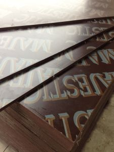 High Quality WBP Brown Film Faced Shuttering Plywood for Building Materials pictures & photos