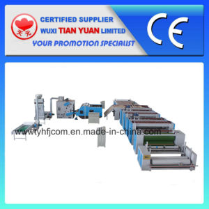 Nonwoven Needle Punched Wadding Production Line (ZCM-1000) pictures & photos