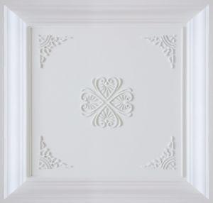 Wood FRP Tile Look 3D Waterproof Wall Panel
