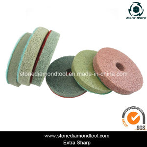 4-Inch 7-Step Sponge Diamond Polishing Pads pictures & photos