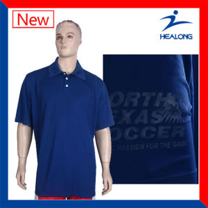 Custom Cut and Sew Tennis Polo T-Shirts for Men pictures & photos