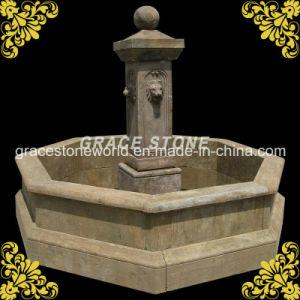 Antique Garden Fountain with Lion Head pictures & photos
