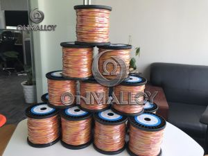 Dia 0.8 mm Type K Thermocouple Compensation Cable with 600 Degree Insulation pictures & photos