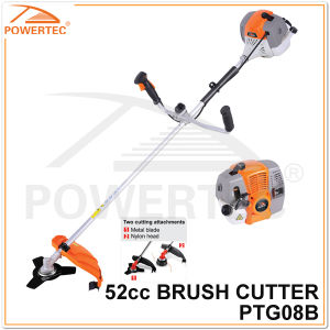 Powertec 1700W 2-Stroke Gas Brush Cutter (PTG08B) pictures & photos