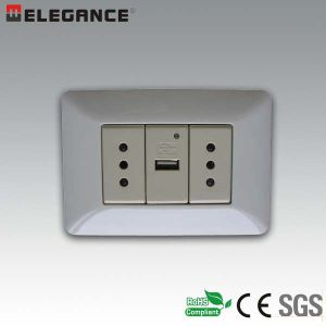 Ma-USB New1 New Design Italian Wall USB Socket pictures & photos