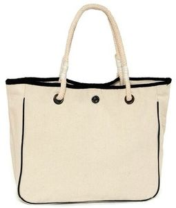 Canvas Cotton Tote Bag with String Handle for Women pictures & photos