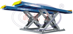 Automatic and Synchronized Heavy Duty Vehicle Scissor Lift Wld-S-12t pictures & photos