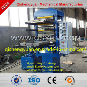 50t Rubber Floor Tile Making Vulcanizer/Rubber Powder Recycling Machine pictures & photos