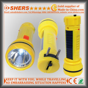 Solar Powered 1W LED Torch for Searching, Hunting (SH-1935) pictures & photos