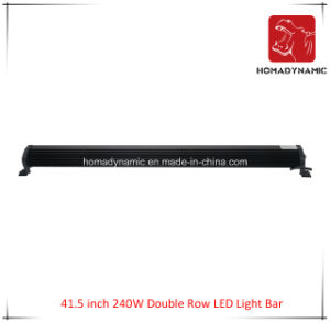 LED Car Light of 41.5 Inch 240W Double Row LED Light Bar Waterproof for SUV Car LED off Road Light and LED Driving Light pictures & photos