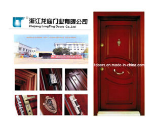 Turkish Style Wooden Armored Door pictures & photos