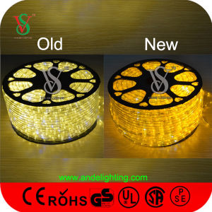 Christmas Decoration LED Rope Light with Colorful Cable pictures & photos