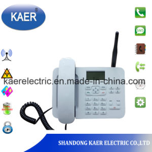 Phone Fixed SIM Card Telephone Corded (KT1000-180C) pictures & photos