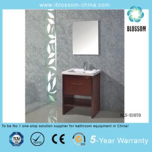 European Style Floor-Mounted MDF Bathroom Cabinet, Furniture, Vanity (BLS-EU070) pictures & photos