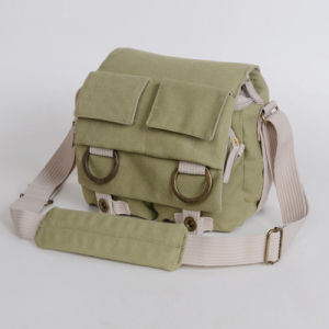 Canvas DSLR Camera Shoulder Bag pictures & photos