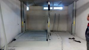 Car Parking Lift in Pit for Four Cars pictures & photos