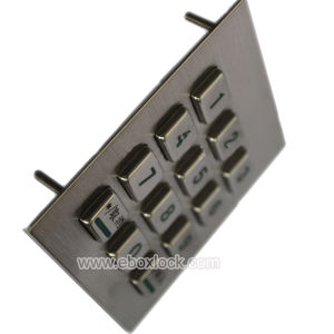 Access Control Keypad/Stainless Steel Keypad for Kiosk pictures & photos